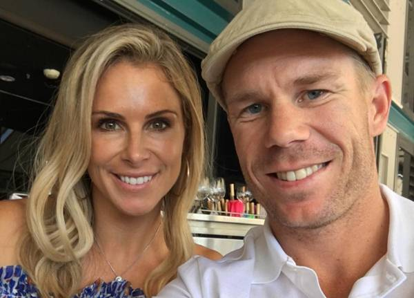 Candice-Warner-with-husband-david-warner