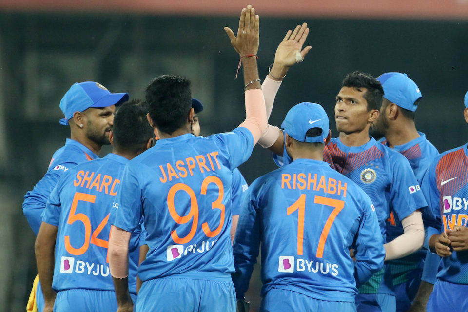 India won by 7 wickets in Indore T20