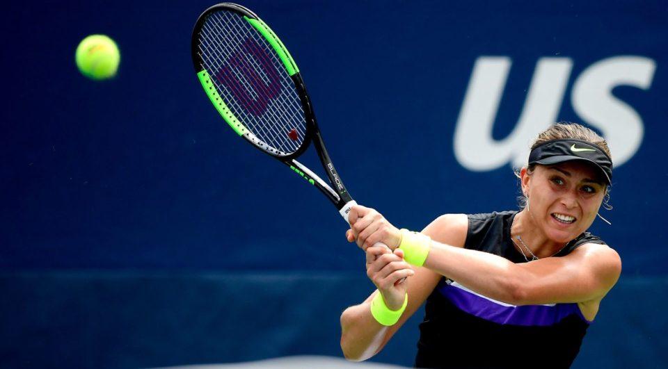 Paula Badosa during Australian open 2020