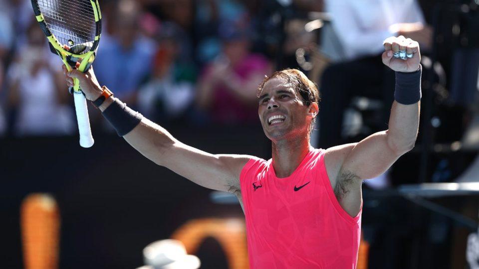 Rafael Nadal in Australian open