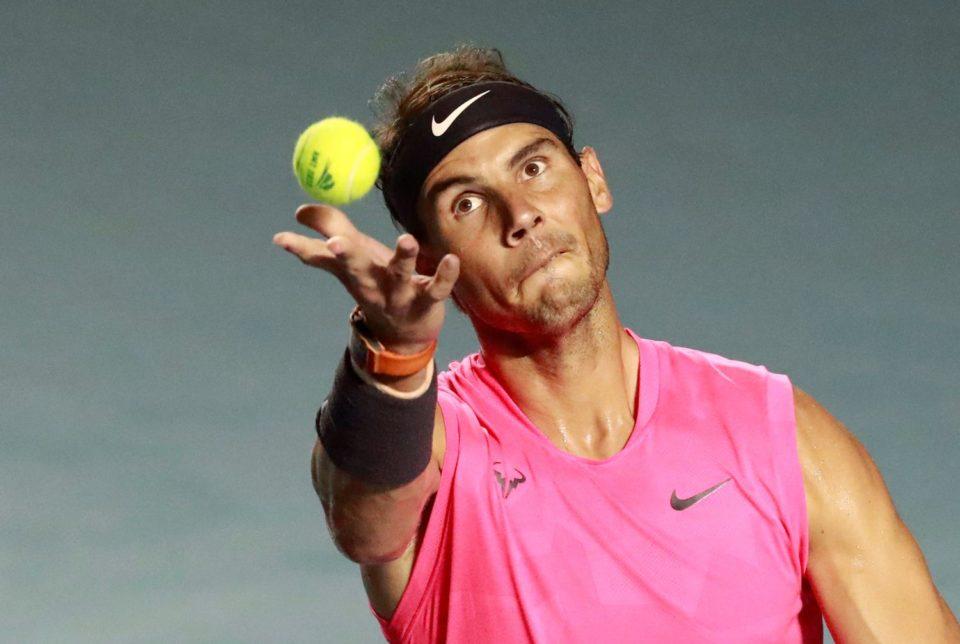 Rafael Nadal quarantined at home due to coronavirus