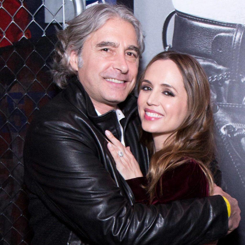 Eliza Dushku with her boyfriend