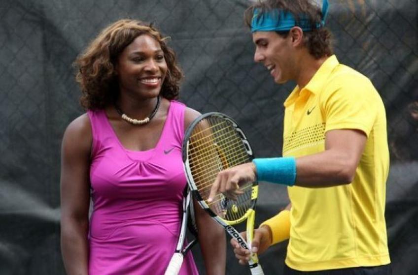 Rafael Nadal & Serena Williams