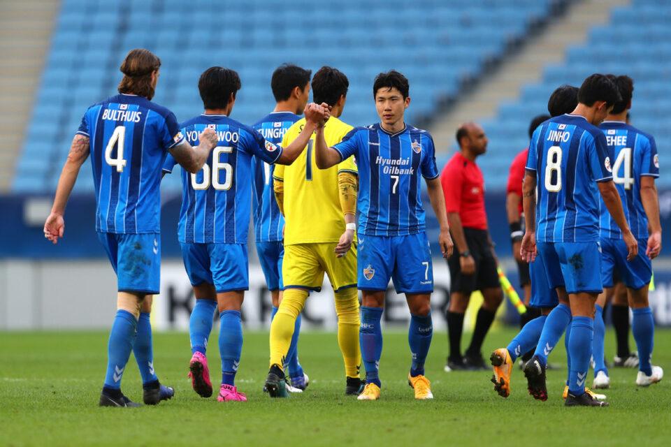 Ulsan Hyundai, Vissel Kobe Kobe, AFC Champions League, Junior Negrao,