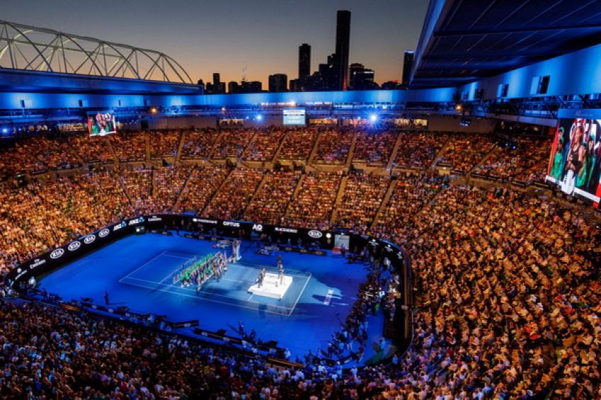 australian open audience
