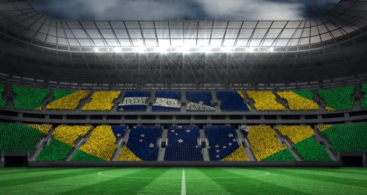 brazilian football stadium