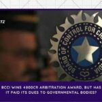 BCCI WINS 4800cr ARBITRATION AWARD, BUT HAS IT PAID ITS DUES TO GOVERNMENTAL BODIES?