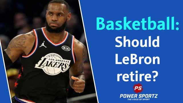 LeBron retire